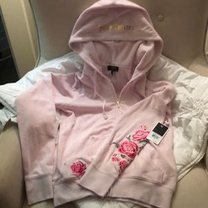 Super cute juicy couture zip up